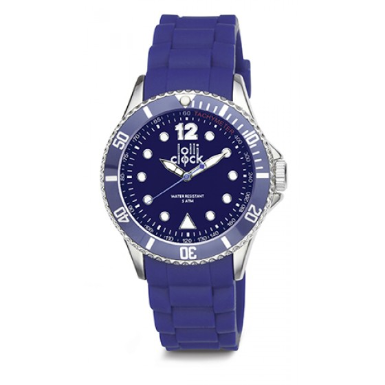 Armbanduhr LOLLICLOCK CHROME BLUE