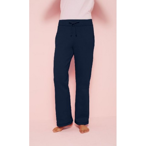 Ladies` Heavy Open Sweatpant