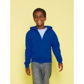 Kids` Full Zip Hooded Sweat