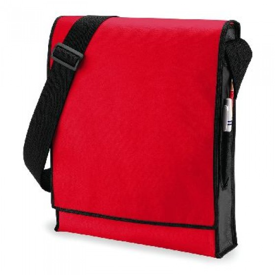 Budget Vertical Messenger Bag