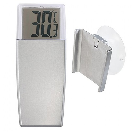 Thermometer Simple, silber