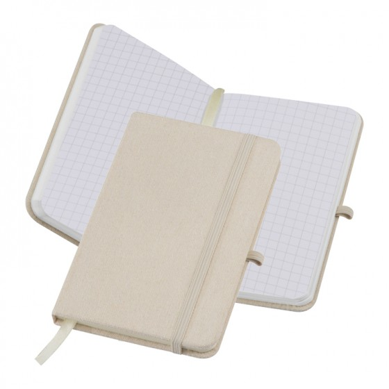 Notizbuch Canvas A6