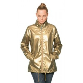 Windbreaker Metallic Damen