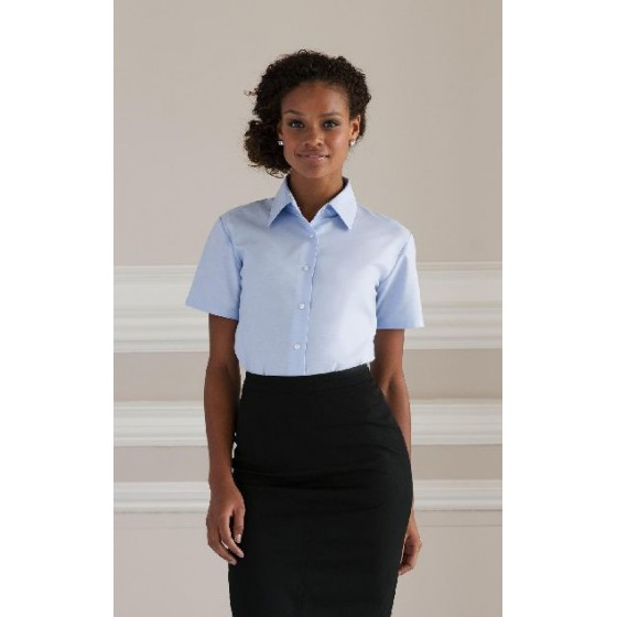 Ladies` Oxford Bluse