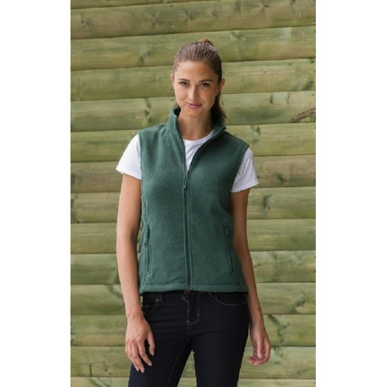Ladies` Gilet Outdoor Fleece