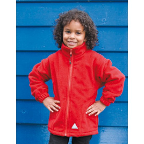 Junior Active Fleece Jacket