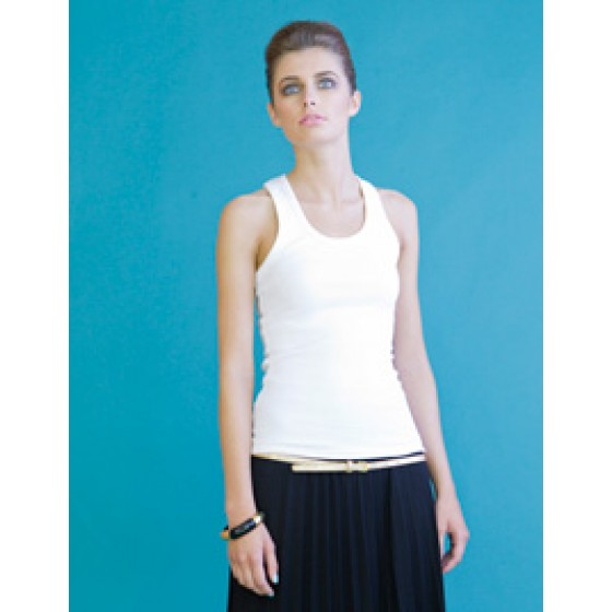 Ladies Stretch Racer-Back Tank