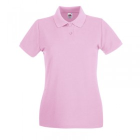 Preiswertes Damen Poloshirt FRUIT OF THE LOOM