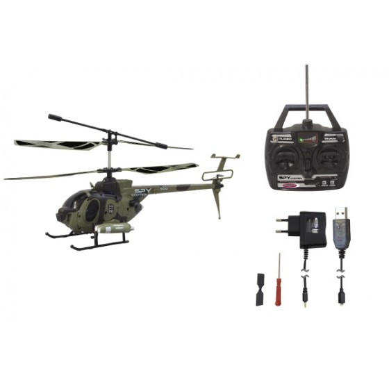 RC Helikopter Military mit Kamera 2.4 GHZ,  37cm lang